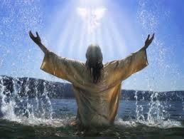 bautismo, bosquejo, jesus, espiritu santo