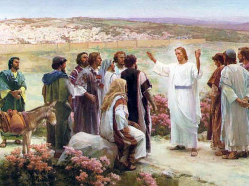 Resultado de imagen de imágenes libres de Jesus predicando